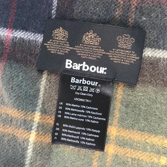 Barbour Accessories - Barbour Merino Cashmere Tartan Scarf